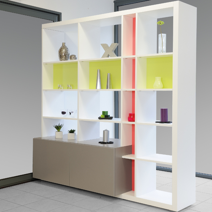 Biblioth que dressing concept for Meuble de separation cuisine