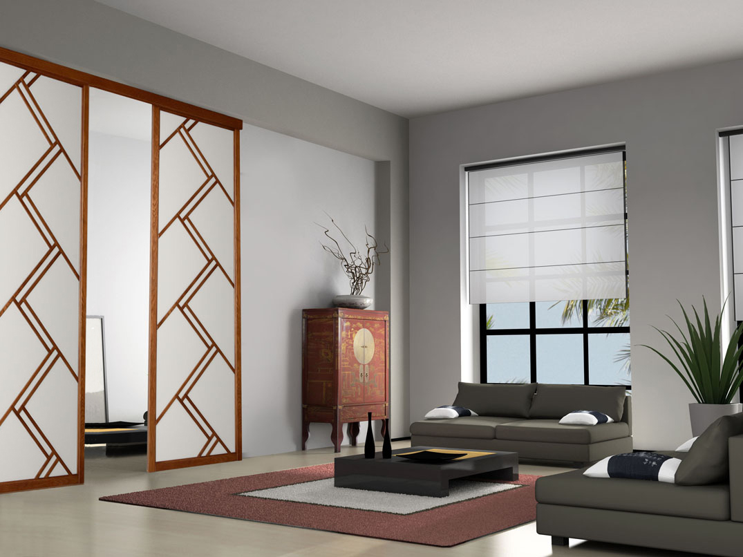 panneaux japonais dressing concept. Black Bedroom Furniture Sets. Home Design Ideas