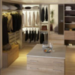 dressing avec ilot central